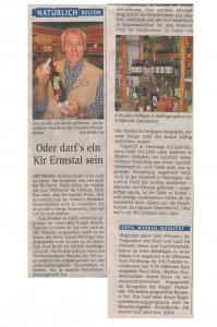 Reutlinger Generaleinzeiger vom Fr. 12. September 2008
